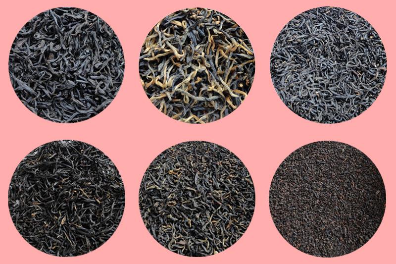 انواع چای سیاه شمال