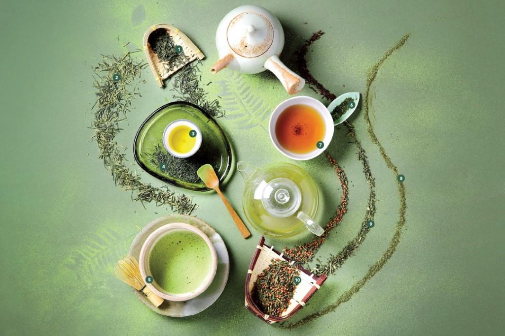 انواع چای سبز بهاره ایرانی