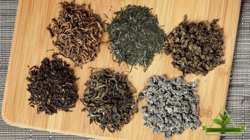اسامی چای ایرانی