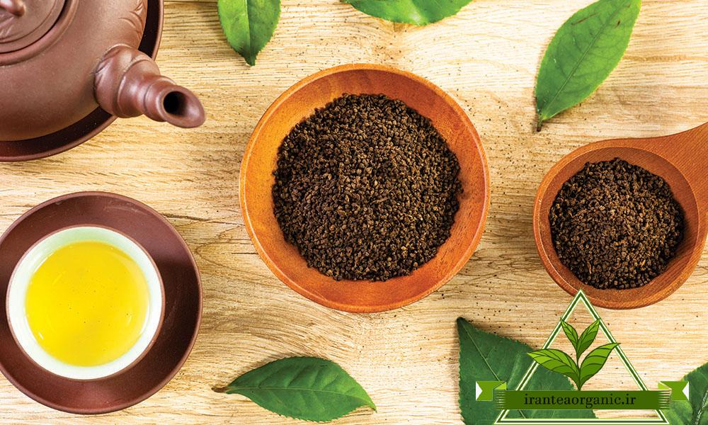 انواع چای باروتی