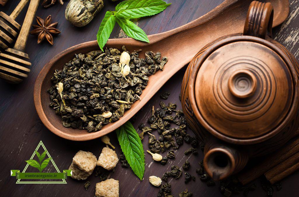 چای سبز فله ایرانی