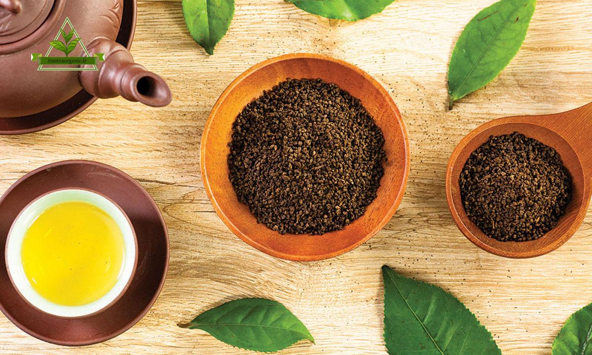 چای سبز باروتی