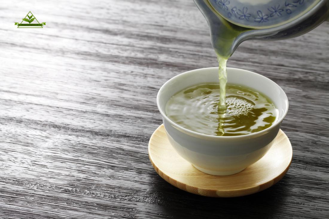 چای سبز قلم