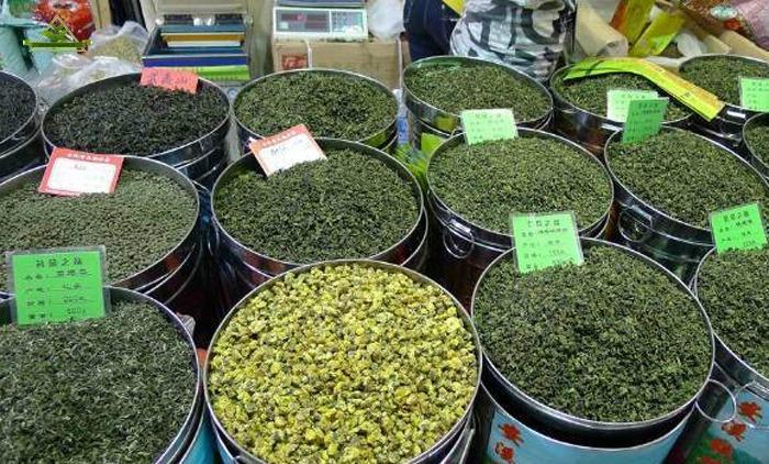 مرکز فروش عمده چای سبز